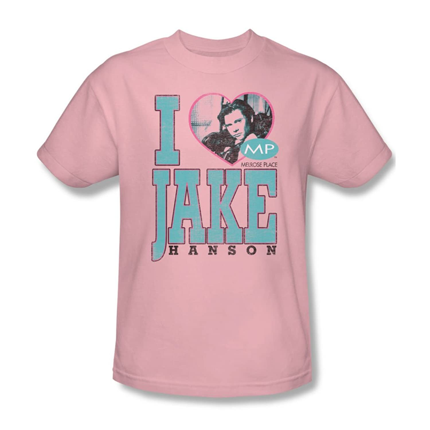 Mp - Mens I Heart Jake Hanson T-Shirt In Pink