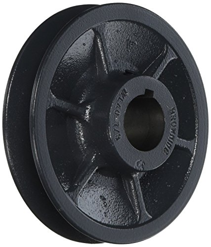 Browning 1VL40X7/8 Variable Pitch Sheave, 1 Groove, Finished Bore, Cast Iron Sheave, for 3L, 4L or A, 5L or B Section Belt -