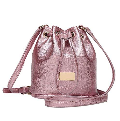 Mini Bolsa De Cubo Bolsa De Hombro Bolsa De Mensajero Salvaje Simple Y Elegante Atmósfera Purple