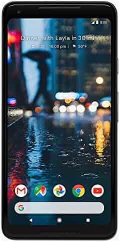 Google Pixel 2 XL 128 GB, Black (Refurbished)