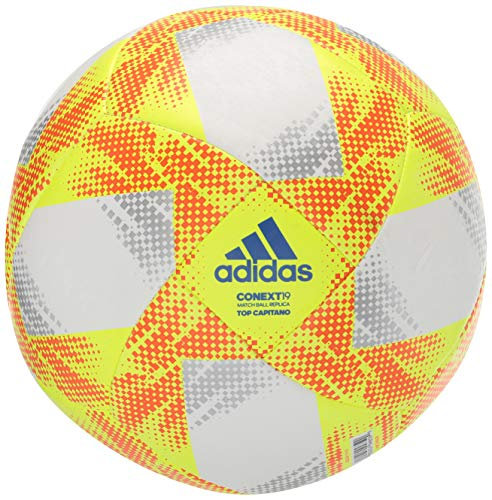 adidas Conext 19 Top Capitano Soccer Ball (4) (Soccer Ball Size 4 Pack)