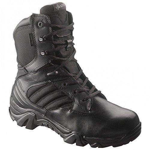 Bates Men's GX-8 Gore-TEX Side Zip Boot (10 EW in Black)