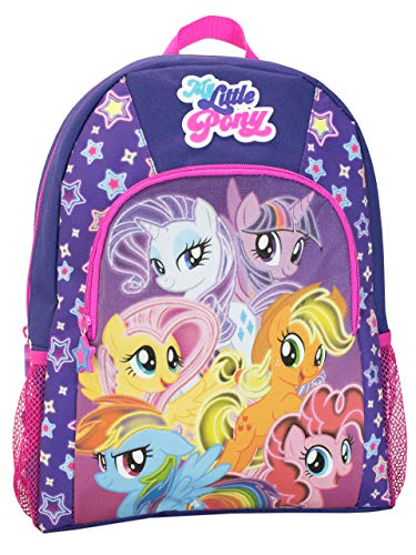 My Little Pony Kids Twilight Sparkle Pinkie Pie Backpack