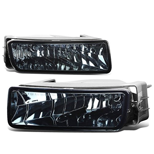 For Ford Expedition U222 Pair of Bumper Driving Fog Lights (Smoke Lens)