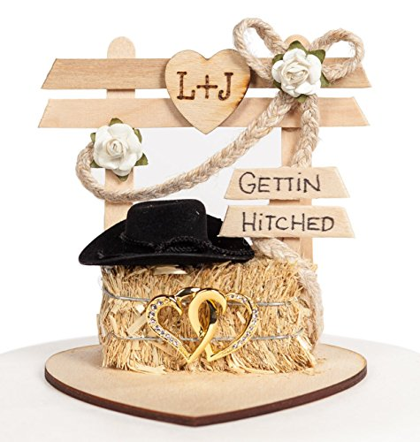 Wedding Collectibles Personalized Gettin Hitched Western ...