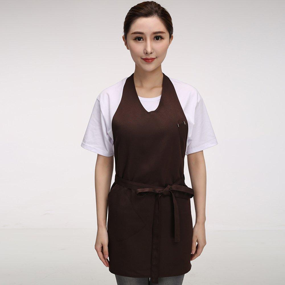 作業服/シェフキッチンエプロン M0075625-H  H B01MQ3XUCL