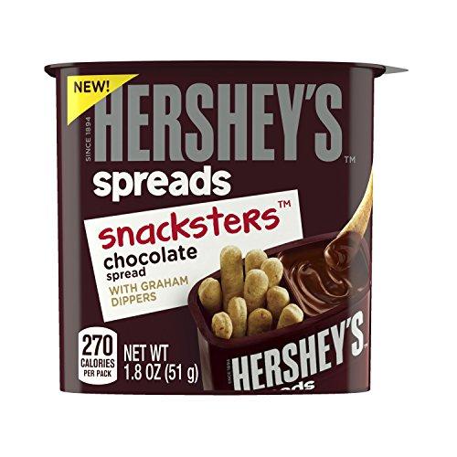 HERSHEYS Spreads Chocolate SNACKSTERS Dippers