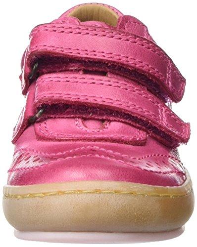 Bisgaard Klettschuhe - Zapatillas Unisex Niños Pink (4001 Pink)