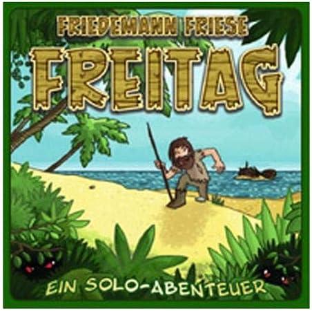 Unbekannt 2F-Spiele 2FS00018 Freitag - Juego de Mesa de Aventuras (Contenido en alemán): Amazon.es: Juguetes y juegos