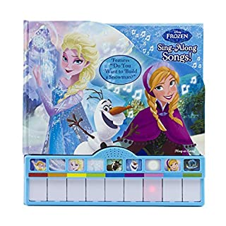 Disney Frozen - Sing-Along Songs! Board Book with Built-In Keyboard Piano - PI Kids