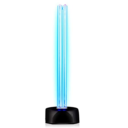 KQJJD UV Desinfektionslampe, keimtötende Lampe, Home Kindergarten Hotel Indoor Mobile Sterilisationslampe