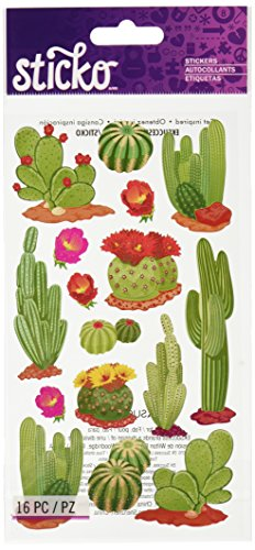 Sticko Desert Cactus Stickers
