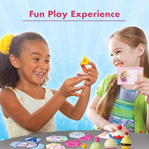 Wonder Forge Disney Princess Enchanted Cupcake Party Game For Girls & Boys Age 3 & Up – A Fun & Fast Matching Party Game…