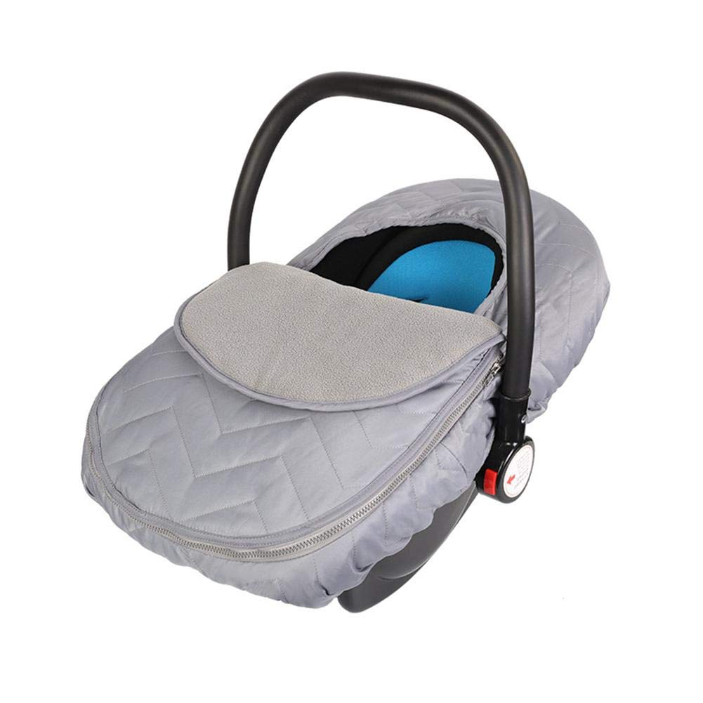 Per Warm Covers for Baby Stroller Cover Protector for Wind and Rain Sleeping Bag for Infants Cart-Gray