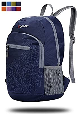 Gowiss Backpack - Rated 20L / 33L- Most Durable Packable Convenient Lightweight Travel Backpack Daypack - Waterproof,Ultralight and Handy