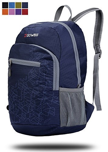 Gowiss Backpack – Rated 20L / 33L- Most Durable Packable Convenient Lightweight Travel Hiking Backpack Daypack – Waterproof,Ultralight and Handy Foldable