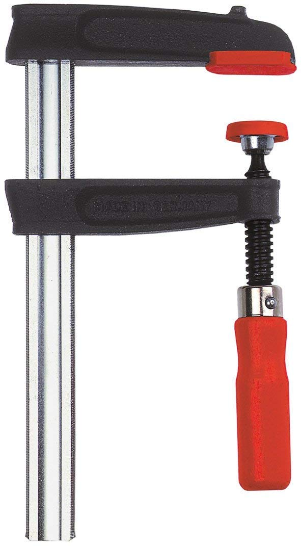 Bessey TPN20BE Screw Clamp Tpn-Be 7.87In/3.94In of Cast-IRON, Black/Red/Silver by Bessey