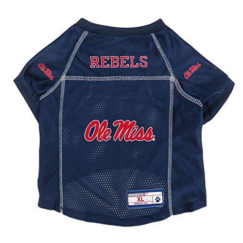(NCAA Ole Miss Rebels Pet Jersey, XL )