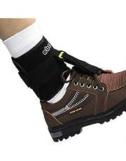 YL Ortesis de caída del pie Negra, corrección del Equipo de rehabilitación del pie