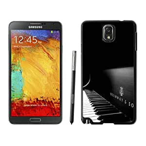 Popular And Unique Custom Designed Case For Samsung Galaxy Note 3 N900A N900V N900P N900T With Steinway And Sons Black Piano Black Phone Case