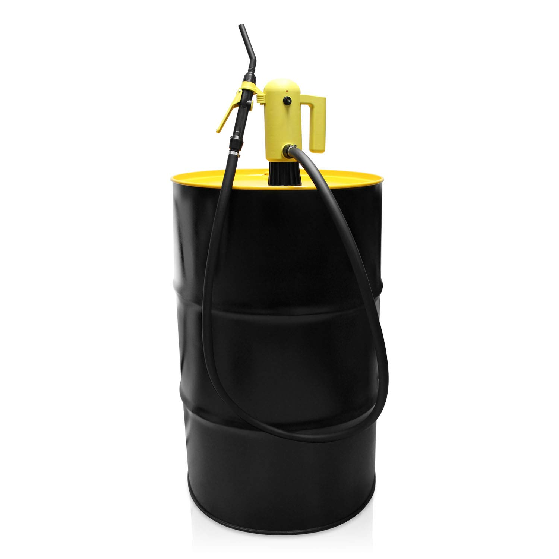 Genuine TERAPUMP 33.5-49'' IBC Totes Telescopic Plug-in Electric Barrel Pump for Diesel Gasoline Kerosene DEF AdBlue Antifreeze Windshield (Washer Fluid) Detergent