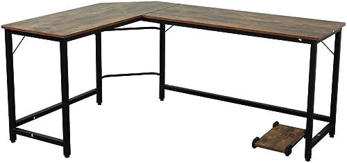 L-Shaped Desk Corner Table Computer Desk Modern Laptop Study Table Workstation Gaming Writing Desk Review