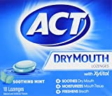 Beauty : ACT Total Care Dry Mouth Lozenges, 18 Count (Pack of 6)