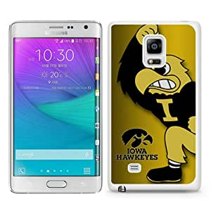 Beautiful Samsung Galaxy Note Edge Cover Case ,Newest And Durable Designed Case With Iowa Hawkeyes White Samsung Galaxy Note Edge Case Unique And Cool Phone Case