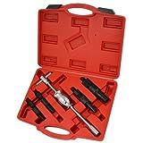 XtremepowerUS 5 Pcs Blind Hole Bearing Puller Slide Hammer Auto Repair Tool Kit