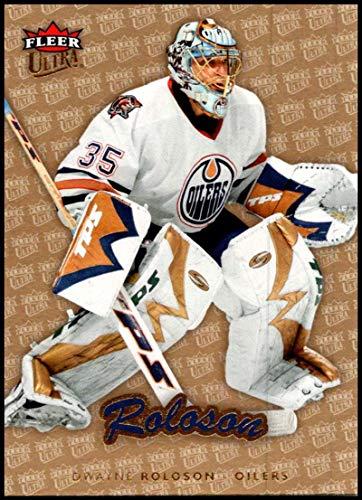 2006-07 Fleer Ultra Gold Medallion #79 Dwayne Roloson NM-MT Edmonton Oilers Official NHL Hockey Trading Card -