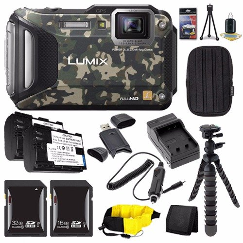 Panasonic DMC TS6Z Camouflage DMW BCM13 Replacement