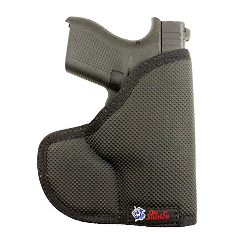 Desantis Nemesis Pocket Holster fits Glock 42, Ambidextrous Black