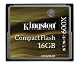 32gb cf card kingston - Kingston Digital CompactFlash Ultimate 600x 16 GB Flash Drive CF/16GB-U3