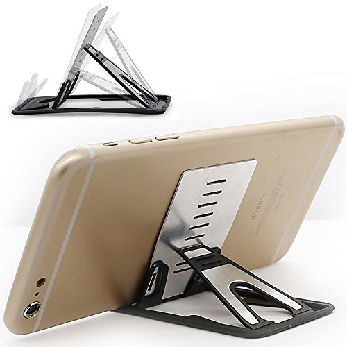 iPhone Kickstand, iPad Kickstand, iMangoo Multi-angle Holder Tablet Dock Adjustable Foldable Cradle Portable Mini Desk Stand Fold-up Smartphone Stands Holders for Apple iPhone, iPad, Samsung, OnePlus - Kickstand Stand