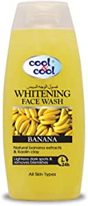 Cool & Cool Whitening Face Wash Banana 200 ml, Pack of 1