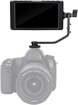 V BESTLIFE Feelworld Monitor de Cámara 5 Pulgadas 4K HDMI Full HD ...