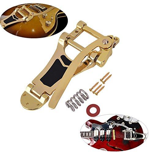 Tremolo Bridge For Electric Guitar Gold - 5
