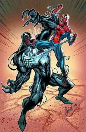 Amazon Com Marvel Comics Venom Vs Spiderman Promo Poster 24 X 36