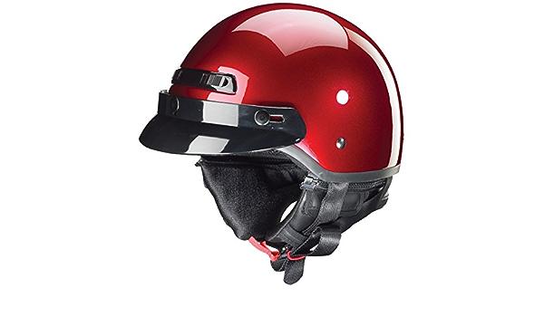 ZOX Unisex Adult Banos STG Cherry Red Half Helmet Z88-11043