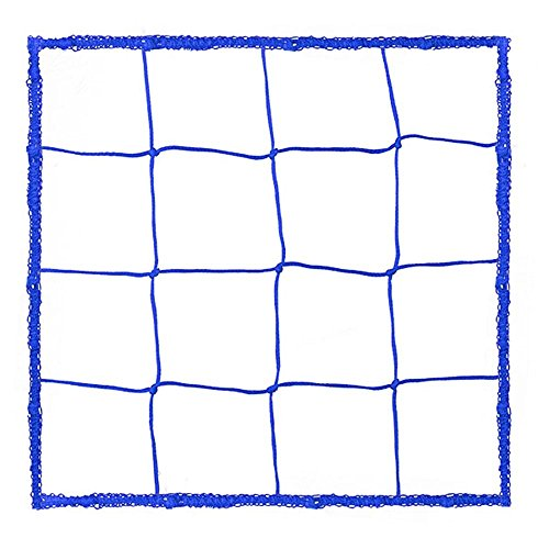 Champion Sports Official Size Soccer Net, 4.0mm, Blue
