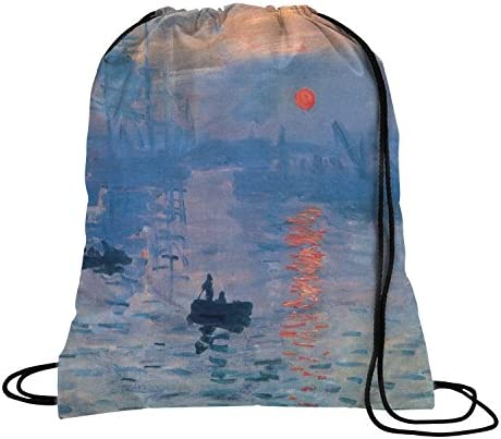 YouCustomizeIt Impression Sunrise by Claude Monet Duffel Bag