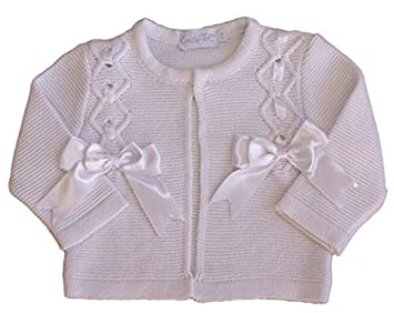Jumpers & Cardigans Baby Smart Next Baby Girl Swan Cardigan Up To 1 Month Clients First