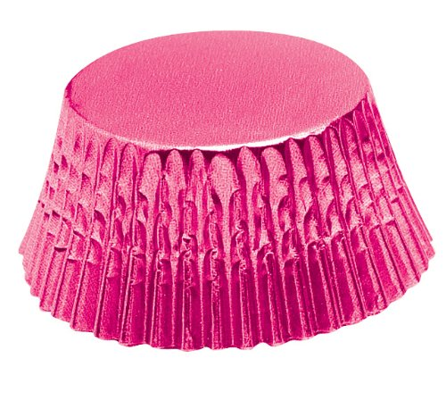 Fox Run 7106 Hot Pink Foil Bake Cups, Standard, 32 Cups