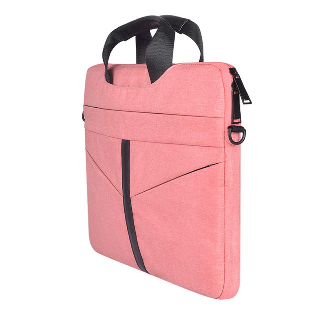 Laptop Bag 13,15.6 Inch Briefcase Shoulder Business Multi-Functional Messenger Bag Satchel Tablet Carrying Handbag Laptop Sleeve for Women Men-Charcoal,Pink,15.6Inch