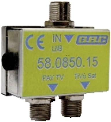 Conmutador de satélite Sky/TIVU Sat i-CAN GBC, con 1 entrada ...