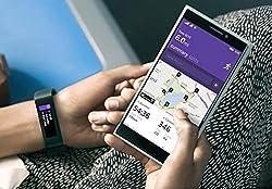 Microsoft Band Fitness Tracker Smartwatch Health Monitor Size Medium