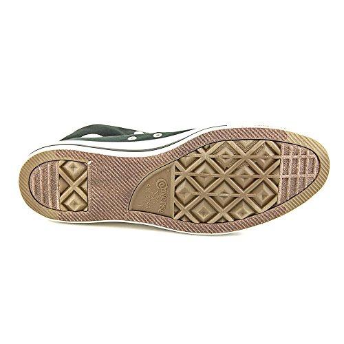 Converse 132444f Ct Doppia Sneaker Alta - Nero / Ciliegia