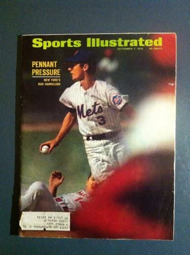 1970 Sports Illustrated Sep 7 Bud Harrelson At Amazon S Sports Collectibles Store