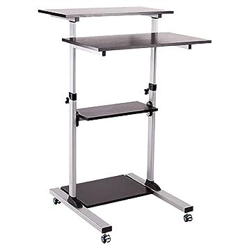 Ergonomischer arbeitstisch  Computerschreibtisch Steh Bürotisch Mobiler ergonomischer Stand-up ...