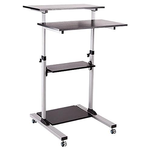 Ergonomischer bürotisch  Computerschreibtisch Steh Bürotisch Mobiler ergonomischer Stand-up ...